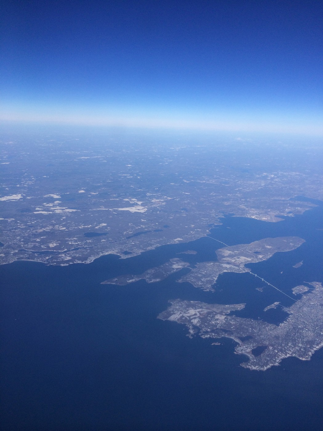 Eastern and Western Passage to Narragansett Bay